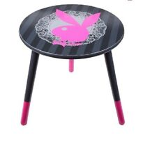 PLAYBOY Lace Bunny Round Table Bedroom Home Decor