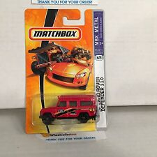 '97 Land Rover Defender 110 #65 * RED * Matchbox * NF15