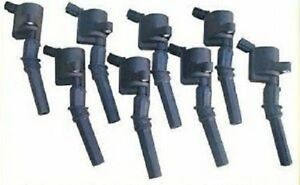 98-2011 CROWN VICTORIA MARQUIS TOWN CAR USA MADE IGNITION COILS DG508 ALL 8 NEW