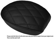 DIAMOND BLACK ST CUSTOM FITS HARLEY SPORTSTER 883 48 72 REAR LTHR SEAT COVER