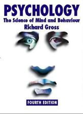 Psychology: The Science of Mind and Behaviour 4th edition,Richard Gross
