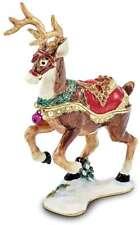 Bejeweled Weihnachten Rentier Schmuckkästchen