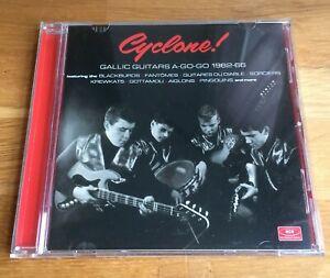 VARIOUS - Cyclone! Gallic Guitars A Go-Go 1962-66 (2019 Ace Records CD Remaster)
