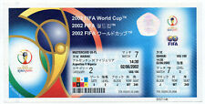 WORLD CUP KOREA JAPAN 2002: ARGENTINA - NIGERIA UNUSED TICKET