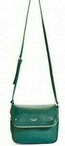 New with tags, GUESS Isabella women's Flap Cross-Body Bag HandBag Purse in Green