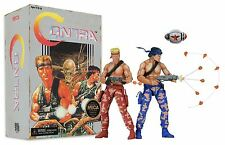 Contra - 7 Inch Scale Action Figure Bill and Lance 2 Pack Video Game Appearance