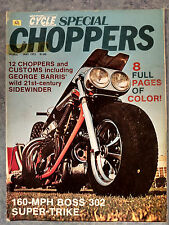 MAY 1972 MOTORCYCLE WORLD SPECIAL CHOPPERS MAGAZINE VOL 1 #6