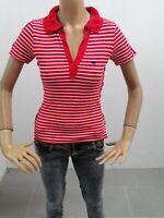 Polo ARMANI JEANS Donna Taglia Size 40 Sweater Woman Pull Femme Maglia P 7292