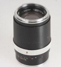 Carl Zeiss Sonnar 4,0/135mm Objektiv schwarz #3645065 für Contarex
