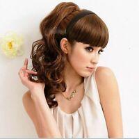 Useful Women Braid Wig Bangs Headband Hair Bands Fashion Hair Accessories