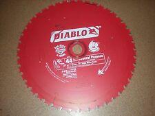 Freud D1244X Diablo 12-Inch 44 Tooth ATB General Purpose Miter Saw Blade #1001