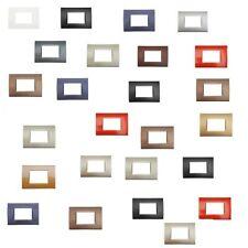 PLACCA MOSTRINA COMPATIBILE BTICINO PER LIVING LIGHT INTERNATIONAL TECH IN PVC