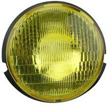 PHARE VESPA AVANT PK 50 125 FL2 SANS SUPPORT DE LAMPE VITRE JAUNE