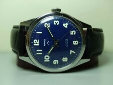VINTAGE MILITARY HMT WINDING 17 JEWELS STEEL MENS OLD USED GC20073 WATCH g335