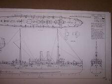 USS DENVER ship boat model boat plan