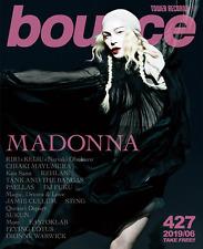 """JAPAN """"BOUNCE"""" MAGAZINE WITH MADONNA COVER ISSUE 427 JUNE 2019 /// madame x"""