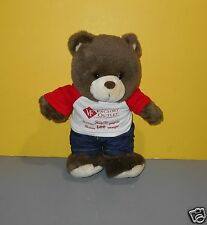"12"" Lee Blue Jeans Denim Pants Teddy Bear Plush Vanity Fair Outlet Advertising"