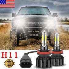 Super Bright 316000Lm H11 Led Headlight High or Low Beam Bulbs 1800W 6000K 2Pcs (Fits: Infiniti)