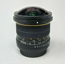 Opteka 6.5mm f3.5 Wide Angle Fisheye Lens For Canon EF Mount Cameras