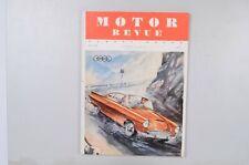 Motor Revue Europa Motor Ausgabe 24 Winterausgabe 1957
