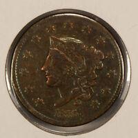 1835 1c Coronet Head Large Cent SKU-Y2507