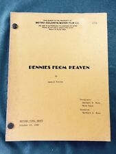 PENNIES FROM HEAVEN. REVISED FINAL DRAFT SCRIPT BY DENNIS POTTER