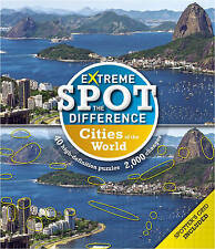 Extreme Spot-the-Difference: Cities, Tim Dedopulos, Very Good condition, Book