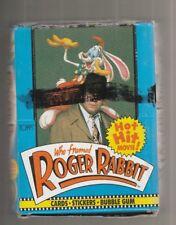 1988 Topps Roger Rabbit Full Box 36 Mint Packs