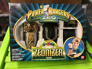 Power rangers mighty morphin Zeo Morpher Original vintage boxed set fully works