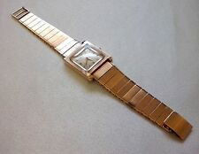 Art Deco Jaeger-LeCoultre Watch Men's 18K Solid Gold Case & Band 72,6 grams