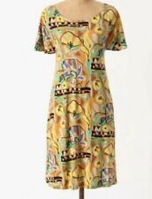 Anthropologie Mina Dress Vanessa Virginia Shift Floral Print, Size Large