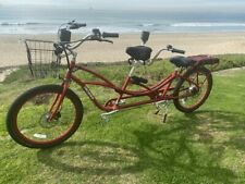 Pedego Electric Tandem Bike - Red.Slightly used. Only 4 months old. Save $1,500!