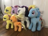 Bundle Hasbro Ty My Little Pony Bundle of 6 Plush Stuffed Toy
