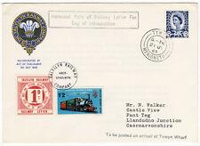 (I.B) Talyllyn Railway : Railway Letter Cover 1/3d (Towyn Wharf)