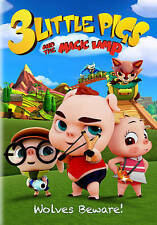 3 Little Pigs and the Magic Lamp DVD, 2016, Canadian