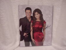 AWESOME Donny & Marie Osmond Autographed 8x10 Photo w/Concert Ticket, MINT!!