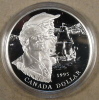 Canada 1995 Silver Dollar Proof Hudson Bay Company