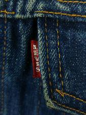 ORIGINALE Vintage Levis Big e tipo III Size 46 Medium M Blu 70505 0247 Jeans 60s