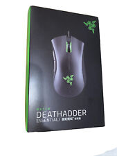 Razer DeathAdder Essential Right-Handed Optical Gaming Mouse Rz01-0254 Used