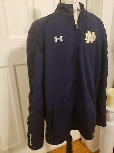 Notre Dame Fighting Irish Under Armour Threadborne Jacket Men's XL. $85 retail