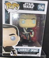 Chirrut Imwe Pop 140 Vinyl Figure Star Wars Rogue One BNIB
