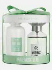 The Body Shop Geschenkset Unisex White Musk Eau de Toilette + Body Lotion Parfum