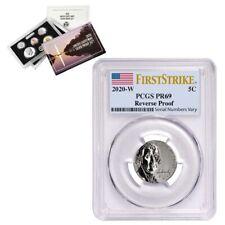 2020-W Reverse Proof Jefferson Nickel PCGS PF 69 FS w/ 2020-S US Mint Silver Set