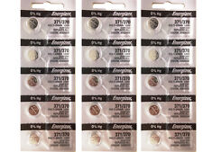15 Pcs Energizer 370 371 Watch Battery SR920W, SR920SW Button Battery