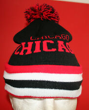"""Chicago"" Knitted beanie cap, one size fits all , £3.99 only"