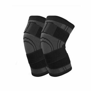 2XL-5XL Compression Knee Sleeve Brace Big & Tall/Arthritis/Joint Support/Patella