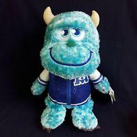 """Disney Pixar Monster University Jame P Sullivn Soft Plush Stuffed  Doll 12"""""""