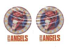 2 Tatouages temporaires motifs diable avec cigare tatoo little angels hallowen
