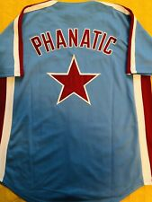 Phillie Phanatic Philadelphia Phillies Jersey : Blue : Adult Mens XS-4XL *SALE*