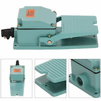 Durable Antislip Industrial Foot Operated Pedal Switch Footswitch AC 250V 10A
